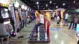 Crazy Fast DDR Champion at MBK Mall Arcade in Bangkok