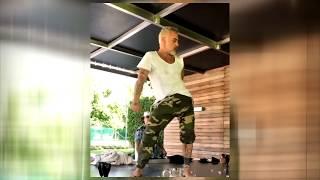 Gianluca Vacchi dance on the table Джанлука Вакки танцует на столе