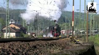 Mit Schnellem Dampf Nach Hamburg - 01 1066 Im Einsatz Am 17.05.2012