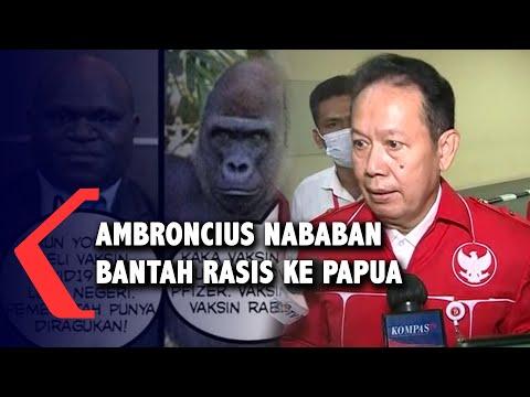 Posting Foto Natalius Pigai, Ambroncius Nababan Bantah Hina Orang Papua