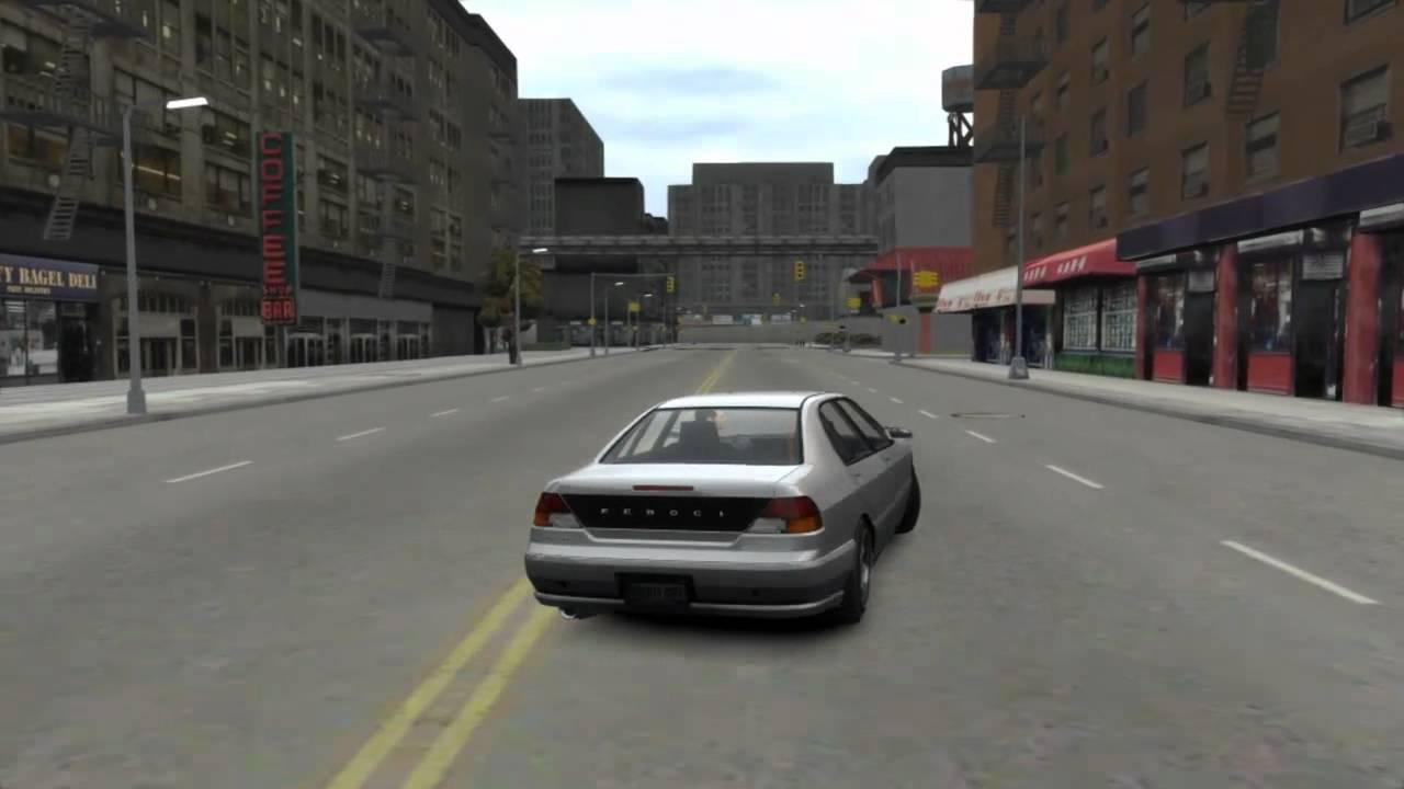 It's GTAIII, Running On GTAIV's Engine
