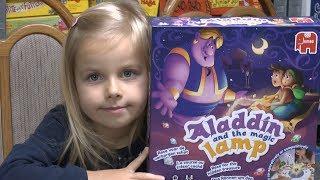 Alladin und die Wunderlampe (Jumbo) - ab 4 Jahre - thematisch und spielerisch gut gemacht!