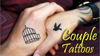 Top 15 Couples Tattoos (Suitable For Indian Skin)