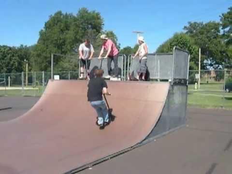 Ryan Falling at Perkasie Skatepark
