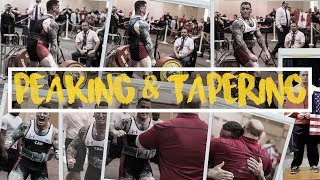 PEAKING AND TAPERING