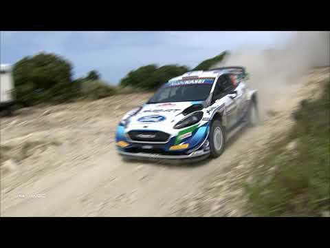 WRC 2021 第5戦ラリー・イタリア M-sportsチームのDay2ハイライト動画