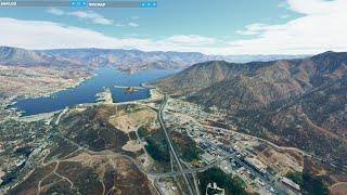 First Leg: Breckenridge - Yosemite Bush Trip (Microsoft Flight Simulator 2020)