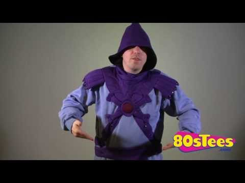 Skeletor Costume Hoodie Video
