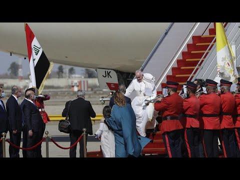 Ιράκ: Ιστορική επίσκεψη του πάπα Φραγκίσκου