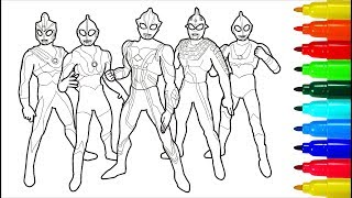 80 Coloring Pages Ultraman For Free