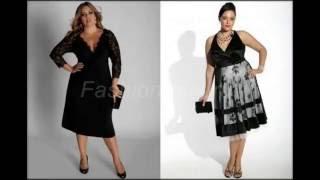 Эти прекрасные, деловые и нарядные платьица для полных дам!!