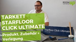 Rigid Vinyl Tarkett Starfloor Click Ultimate verlegen