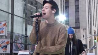 """Harry Styles Today Show """"Sign Of The Times"""" Sound Check"""