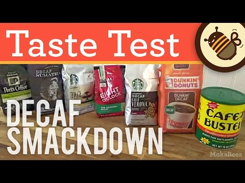 Best Decaf Coffee Taste Test - We Review & Compare Decaffeinated Coffee Brands