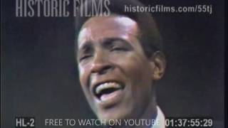 MARVIN GAYE - SONG MEDLEY 2 (RARE CLIP)