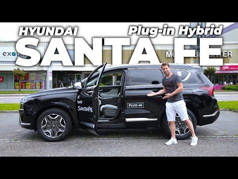 New Hyundai Santa Fe Plug-in Hybrid 2022 Review