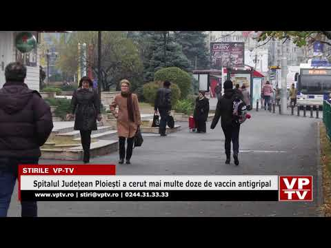Spitalul Județean Ploiești a cerut mai multe doze de vaccin antigripal