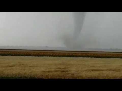 Tornado Nähe Schwechat 10.07.2017