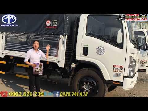 Xe tải Isuzu Vĩnh Phát 8.2 tấn thùng bạt - kín giá rẻ nhất