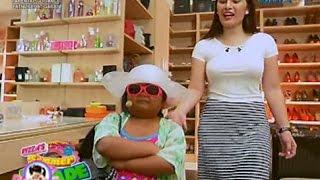 Ryzza Mae, nag-tour sa walk-in closet ni Pauleen Luna