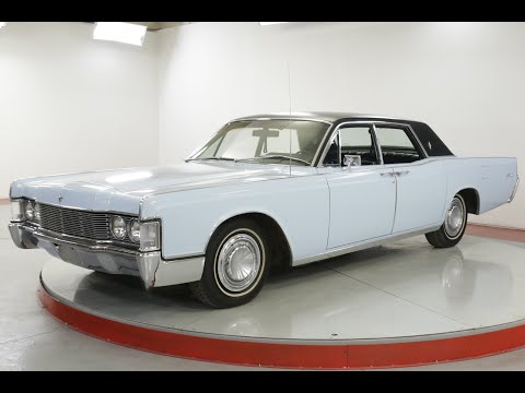 Video of '68 Continental - Q7BV