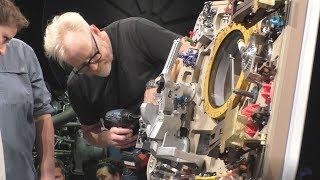 Adam Savage Project Egress Apollo 11 Hatch Live Build!