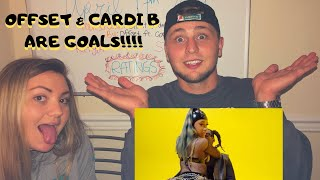 """OFFSET FT. CARDI B """"Clout"""" VIDEO   REACTION (THEY KILLIN IT!)"""