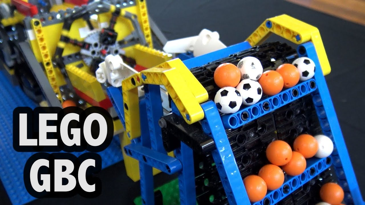 LEGO Great Ball Contraption at Brickvention 2019