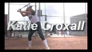 2021 Kinsey Metcalf Lefty Pitcher and First Base Softball Skills Video - CCA