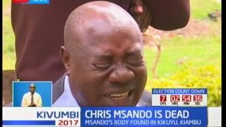 Kenyans regard IEBC's ICT manager Chris Msando dies a hero: Kivumbi 2017