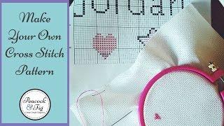 Design Cross Stitch Patterns: How To Make Cross Stitch Charts