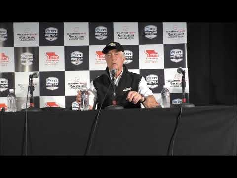 2019 IndyCar finale Roger Penske post-race Q&A