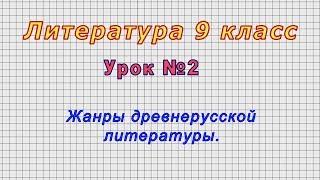 Литература 9 класс Урок 2