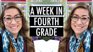 A Typical Week In Fourth Grade | Pocketful Of Primary