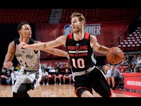 Full Highlights: Portland Trail Blazers vs San Antonio Spurs, MGM Resorts NBA Summer League