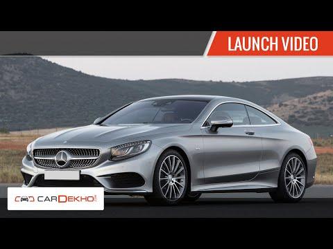 2015 Mercedes S 500 Coupe, S 63 AMG- Launch |CarDekho.com