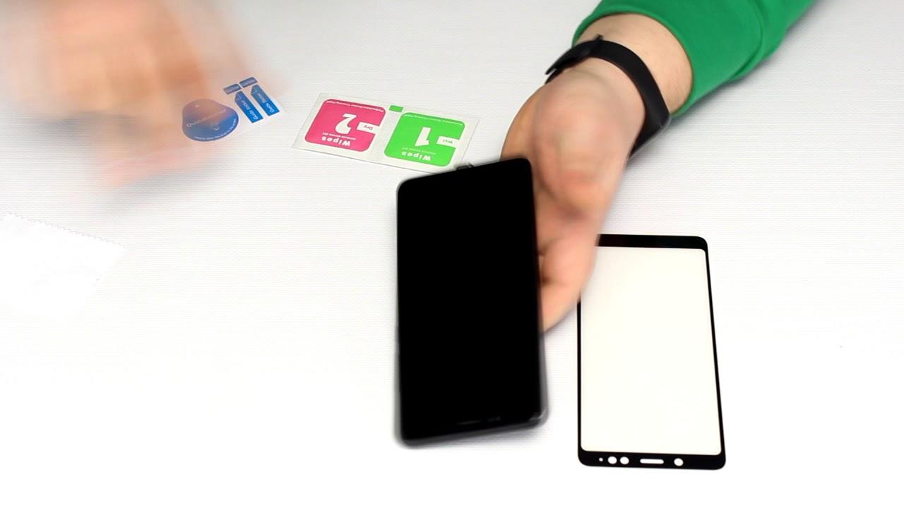 Защитное стекло ColorWay FC Glue (Black) для Xiaomi Redmi 8A video preview
