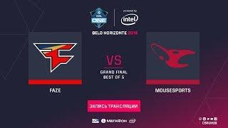 FaZe vs mousesports - ESL One Belo Horizonte - GRAND FINAL - map2 - de_cache [CrystalMay, Enkanis]