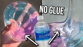WATER SLIME! 💧Testing NO GLUE Slime