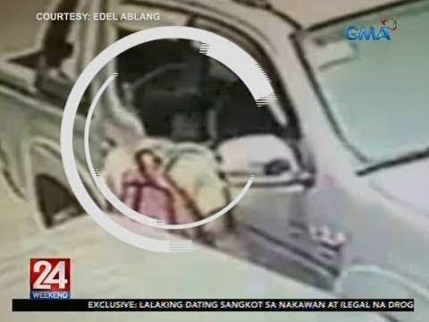 [GMA]  24 Oras: Bag sa loob ng nakaparadang sasakyan, sinikwat