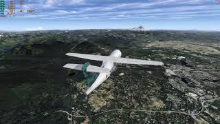 P3D V4 4 Dynamic Lights test PMDG at Aerosoft EGLL - ORBX