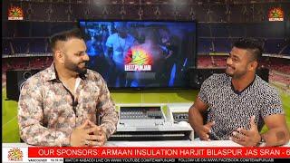 LIVE KABADDI INTERVIEW SUPERSTAR SULTAN SHAMSHPUR WITH LUCKY KURALI