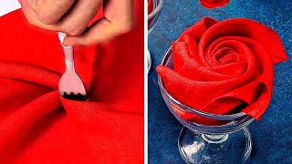 43 EASY NAPKIN FOLDING FOR ANY OCCASION