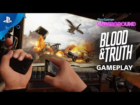 Blood & Truth - PS VR Gameplay | PlayStation Underground thumbnail