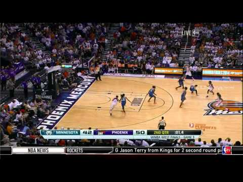 WNBA Playoffs | 02.09.2014 | Minnesota Lynx - Phoenix Mercury (FULL GAME)