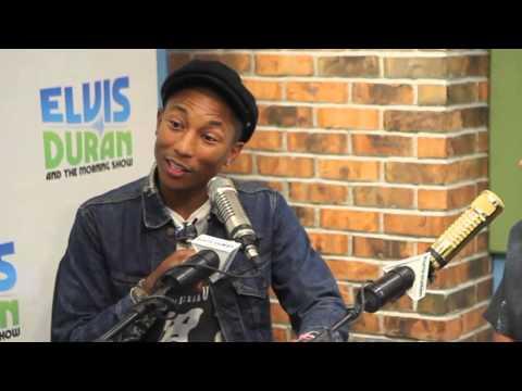 Pharrell Williams Interview: Talks Song Freedom & 9/11 Story | Elvis Duran Show