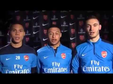 Arsenal chúc mừng Việt Nam