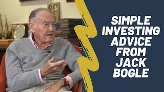 Jack Bogle on Index Funds, Vanguard, and Investing Advice