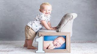 BABYS FIRST BIRTHDAY PHOTOSHOOT| 1 YEAR OLD PHOTOS