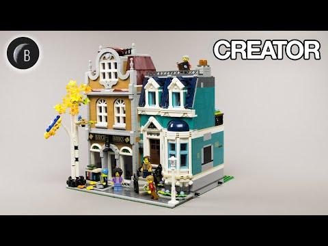 Vidéo LEGO Creator 10270 : La librairie